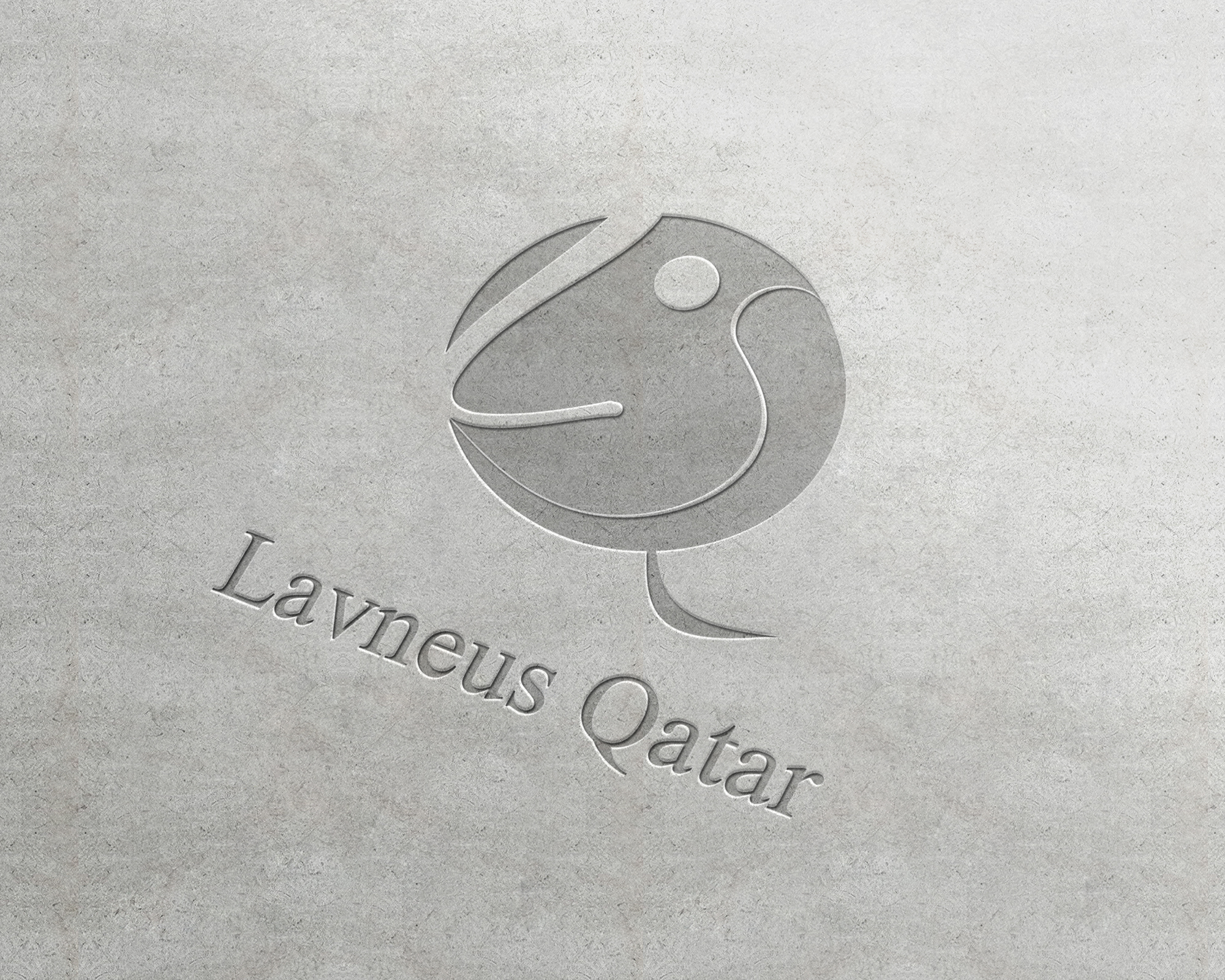 Logo Design by Shakir Alzadjali - Entry No. 60 in the Logo Design Contest Imaginative Logo Design for lavneus qatar.