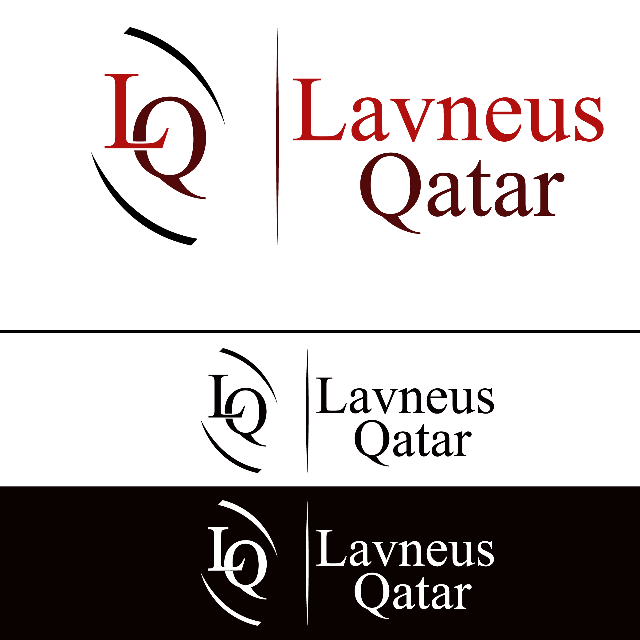 Logo Design by Shakir Alzadjali - Entry No. 65 in the Logo Design Contest Imaginative Logo Design for lavneus qatar.