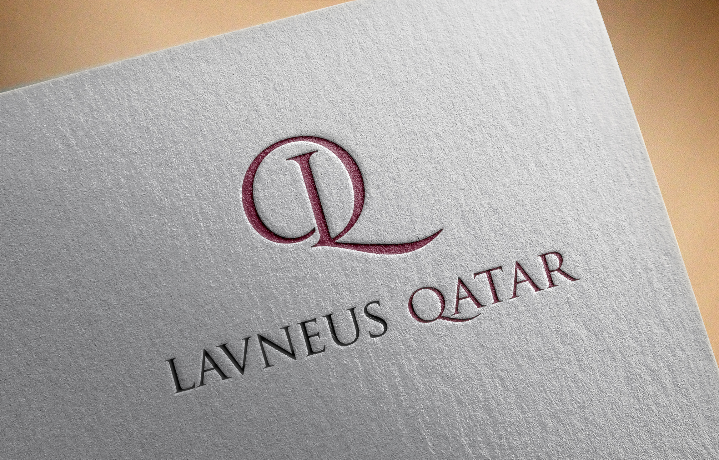 Logo Design by MD SHOHIDUL ISLAM - Entry No. 69 in the Logo Design Contest Imaginative Logo Design for lavneus qatar.