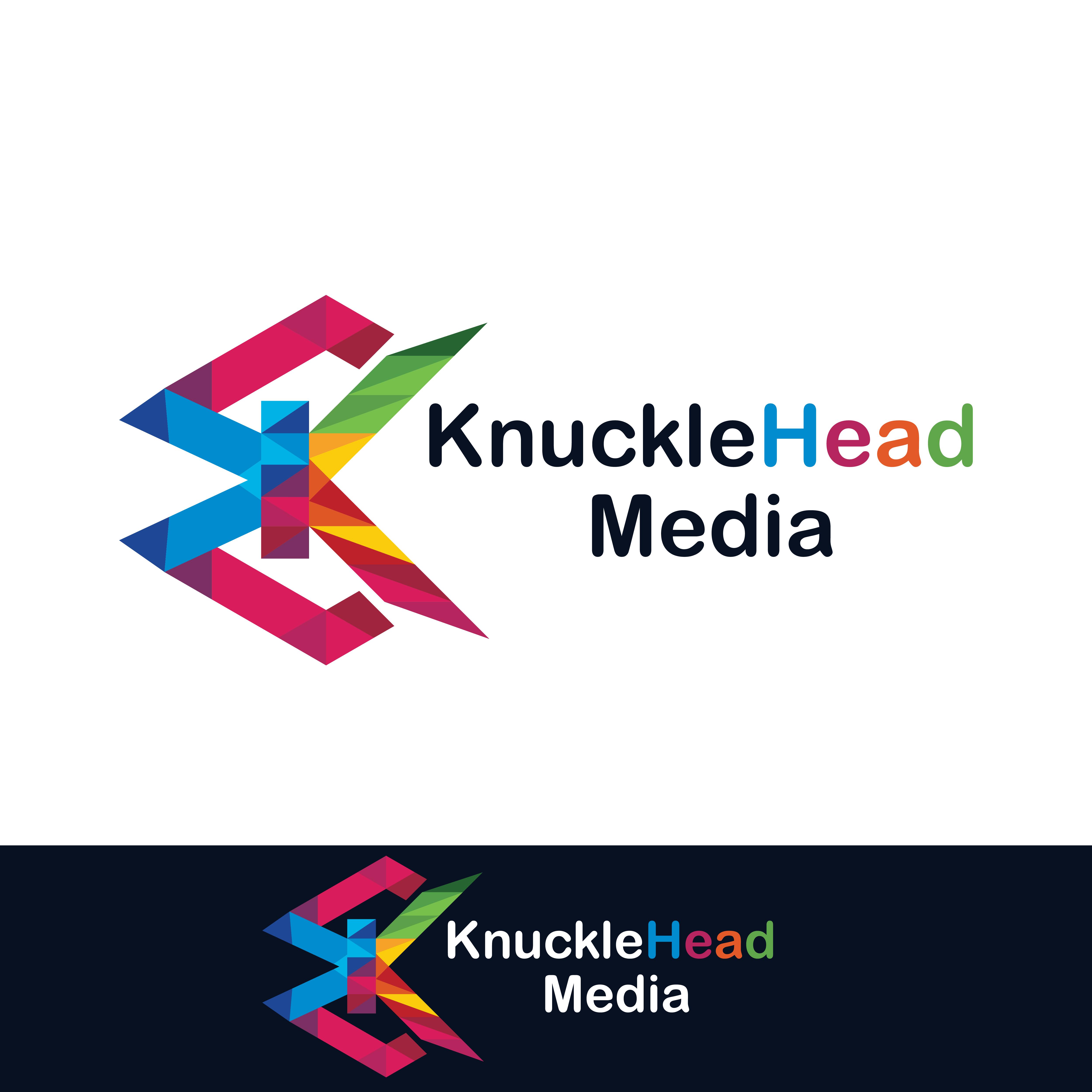 Logo Design by Shakir Alzadjali - Entry No. 1 in the Logo Design Contest Imaginative Logo Design for knucklehead media.