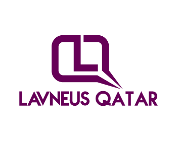 Logo Design by Private User - Entry No. 82 in the Logo Design Contest Imaginative Logo Design for lavneus qatar.