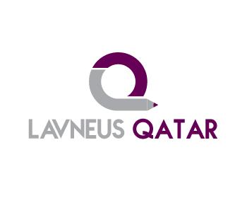 Logo Design by Private User - Entry No. 84 in the Logo Design Contest Imaginative Logo Design for lavneus qatar.