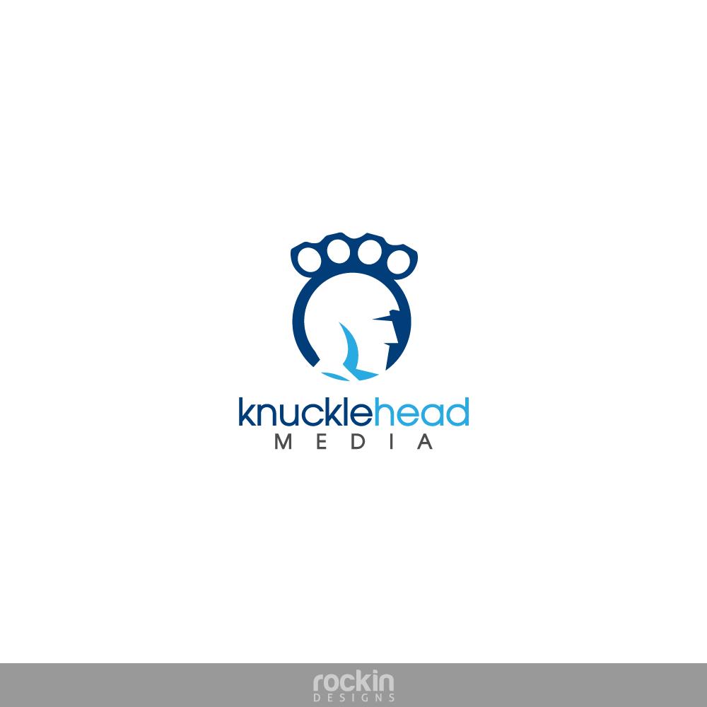 Logo Design by rockin - Entry No. 7 in the Logo Design Contest Imaginative Logo Design for knucklehead media.