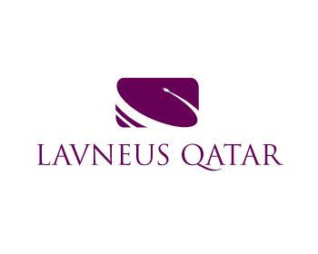 Logo Design by Private User - Entry No. 88 in the Logo Design Contest Imaginative Logo Design for lavneus qatar.