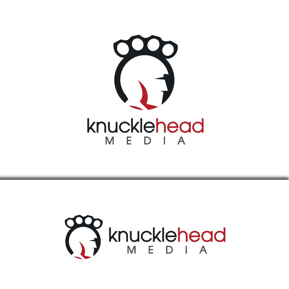 Logo Design by rockin - Entry No. 11 in the Logo Design Contest Imaginative Logo Design for knucklehead media.