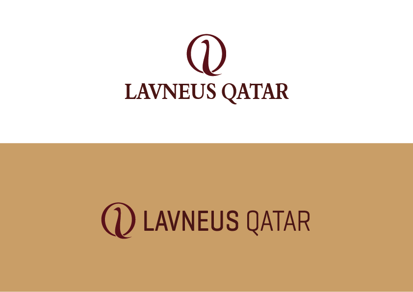 Logo Design by Evo-design - Entry No. 96 in the Logo Design Contest Imaginative Logo Design for lavneus qatar.