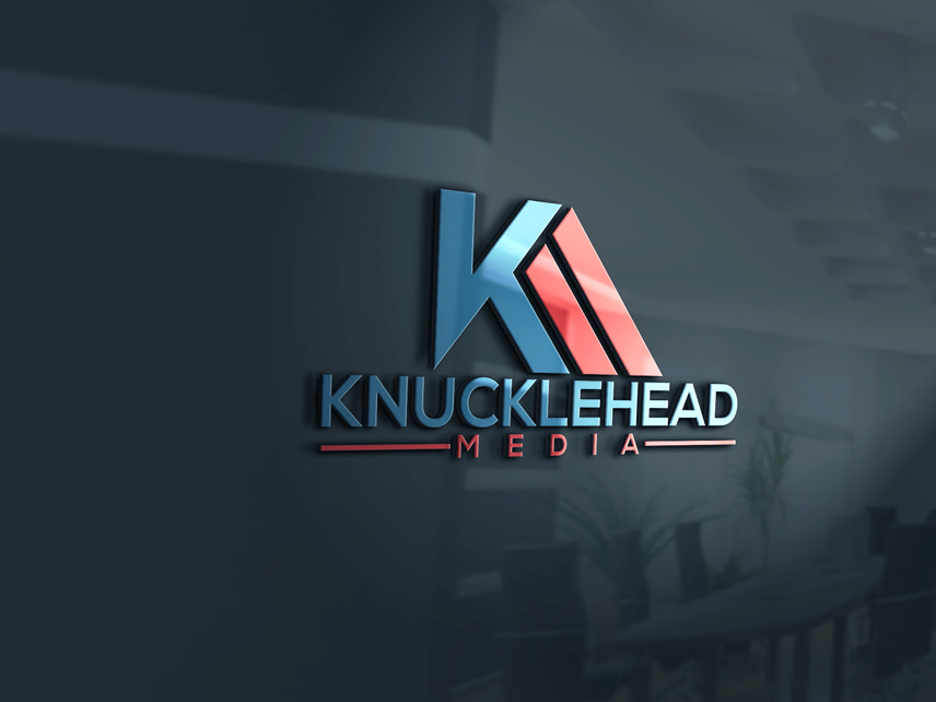 Logo Design by Private User - Entry No. 12 in the Logo Design Contest Imaginative Logo Design for knucklehead media.
