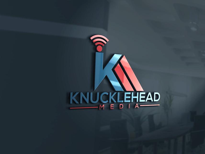 Logo Design by Private User - Entry No. 13 in the Logo Design Contest Imaginative Logo Design for knucklehead media.