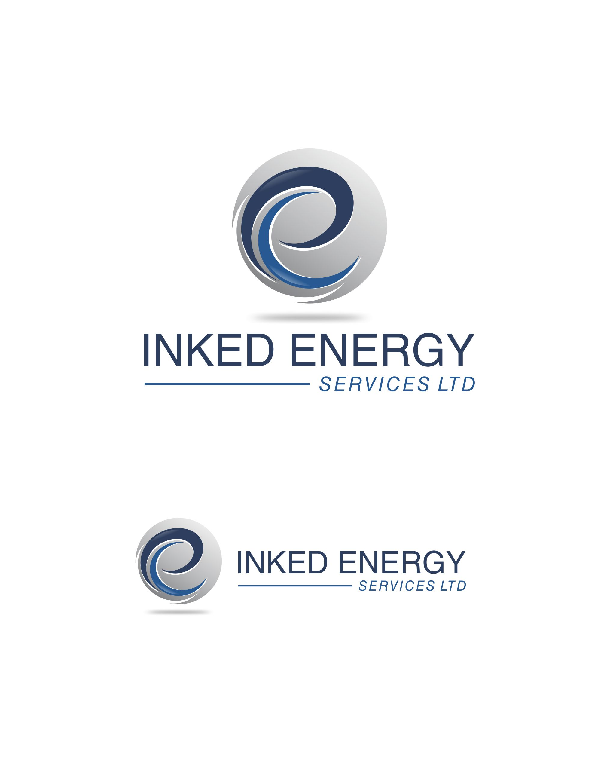 Logo Design by Raymond Garcia - Entry No. 6 in the Logo Design Contest Creative Logo Design for INKED ENERGY SERVICES LTD.