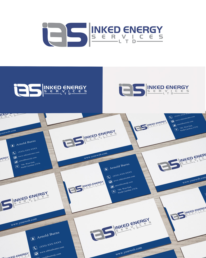 Logo Design by Private User - Entry No. 15 in the Logo Design Contest Creative Logo Design for INKED ENERGY SERVICES LTD.
