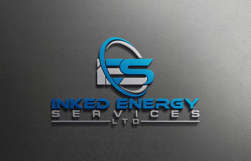 Logo Design by Private User - Entry No. 16 in the Logo Design Contest Creative Logo Design for INKED ENERGY SERVICES LTD.