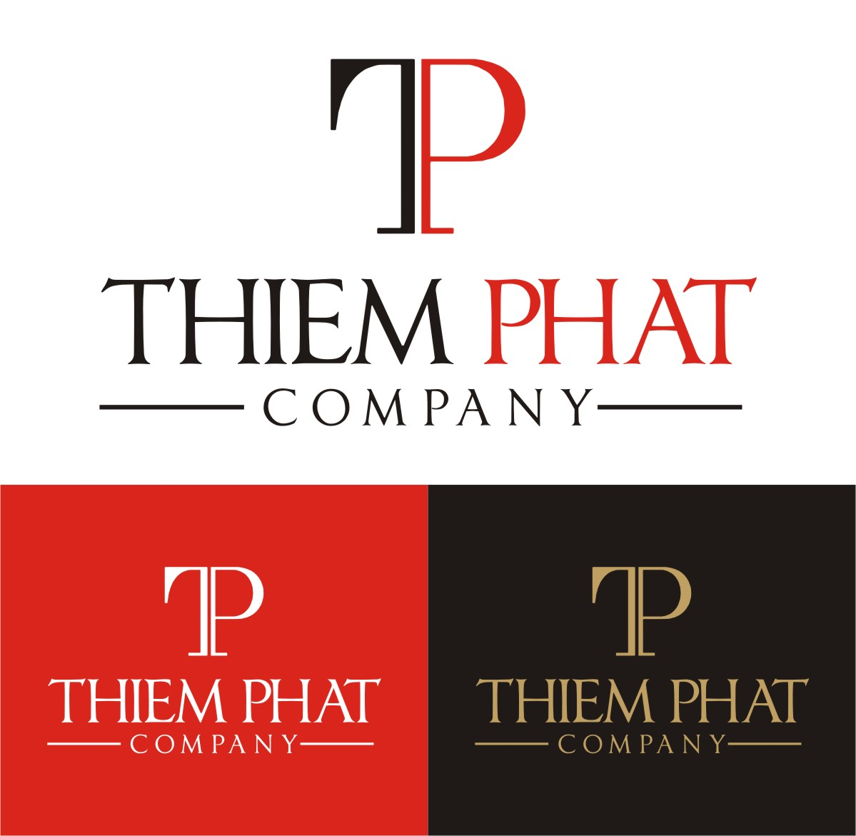 Logo Design by Spider Graphics - Entry No. 16 in the Logo Design Contest New Logo Design for Thiem Phat company.