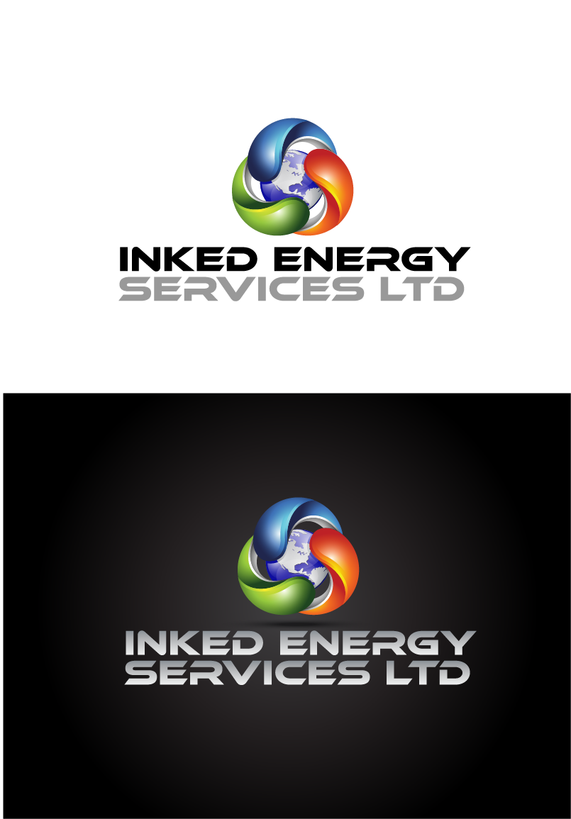 Logo Design by Private User - Entry No. 20 in the Logo Design Contest Creative Logo Design for INKED ENERGY SERVICES LTD.