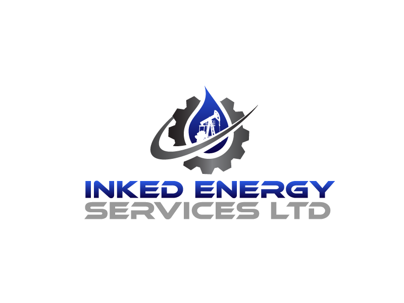 Logo Design by Private User - Entry No. 21 in the Logo Design Contest Creative Logo Design for INKED ENERGY SERVICES LTD.