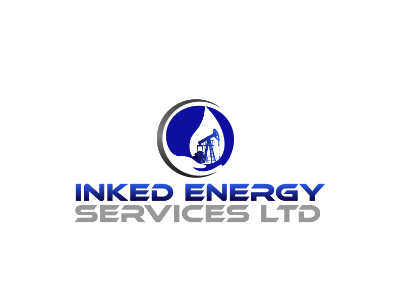 Logo Design by Private User - Entry No. 22 in the Logo Design Contest Creative Logo Design for INKED ENERGY SERVICES LTD.