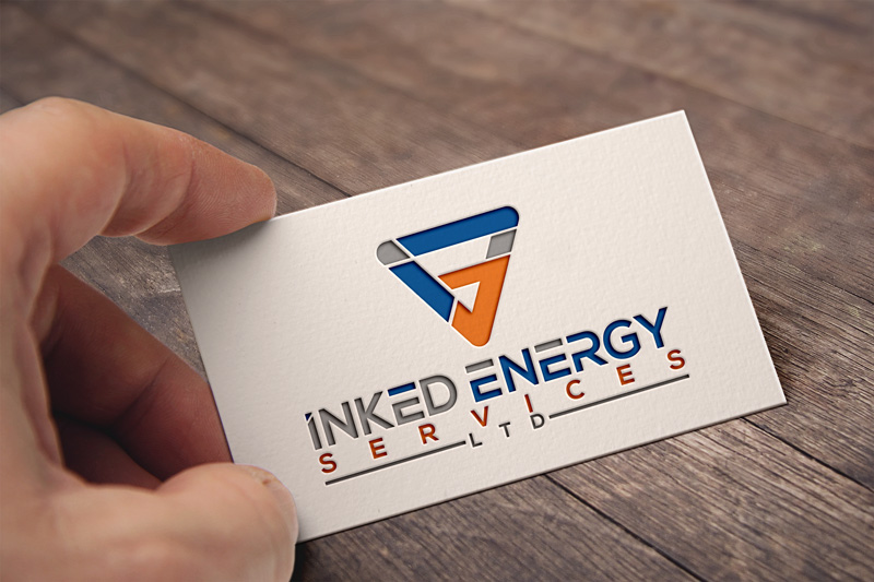 Logo Design by Private User - Entry No. 33 in the Logo Design Contest Creative Logo Design for INKED ENERGY SERVICES LTD.