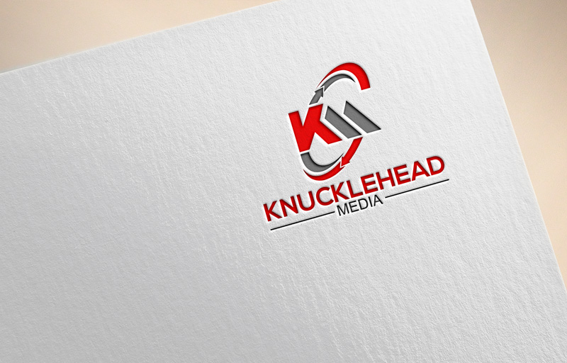 Logo Design by Private User - Entry No. 16 in the Logo Design Contest Imaginative Logo Design for knucklehead media.
