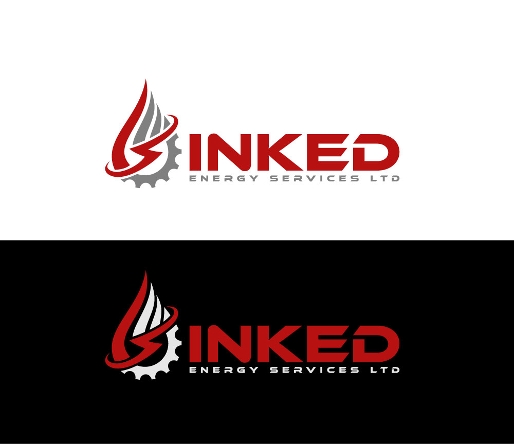 Logo Design by Private User - Entry No. 37 in the Logo Design Contest Creative Logo Design for INKED ENERGY SERVICES LTD.