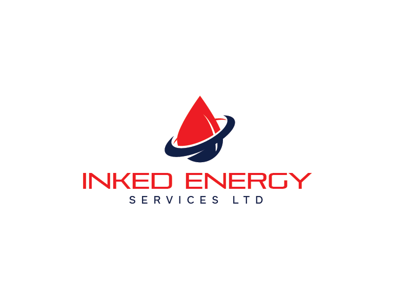 Logo Design by roc - Entry No. 41 in the Logo Design Contest Creative Logo Design for INKED ENERGY SERVICES LTD.
