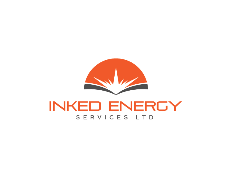 Logo Design by roc - Entry No. 46 in the Logo Design Contest Creative Logo Design for INKED ENERGY SERVICES LTD.