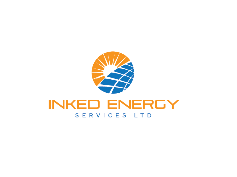 Logo Design by roc - Entry No. 47 in the Logo Design Contest Creative Logo Design for INKED ENERGY SERVICES LTD.