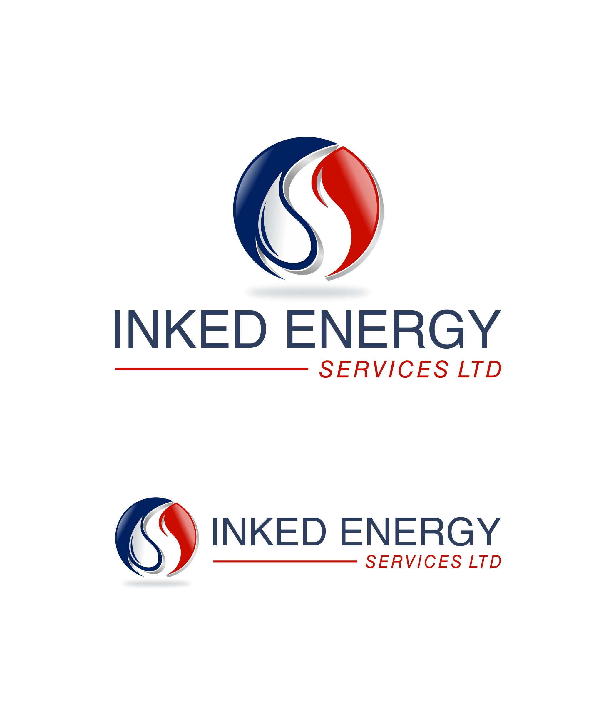 Logo Design by Raymond Garcia - Entry No. 48 in the Logo Design Contest Creative Logo Design for INKED ENERGY SERVICES LTD.