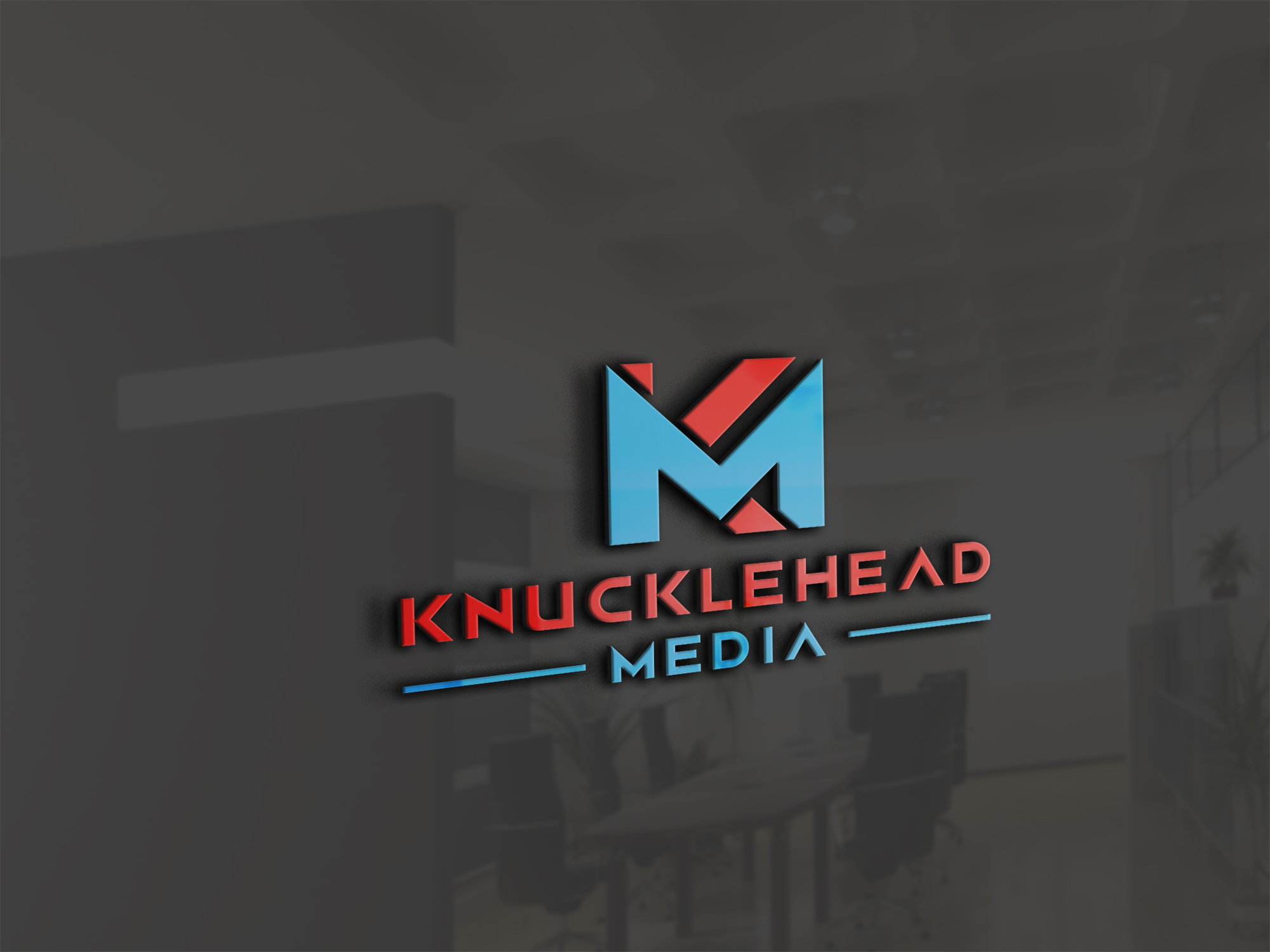 Logo Design by Raymond Garcia - Entry No. 24 in the Logo Design Contest Imaginative Logo Design for knucklehead media.