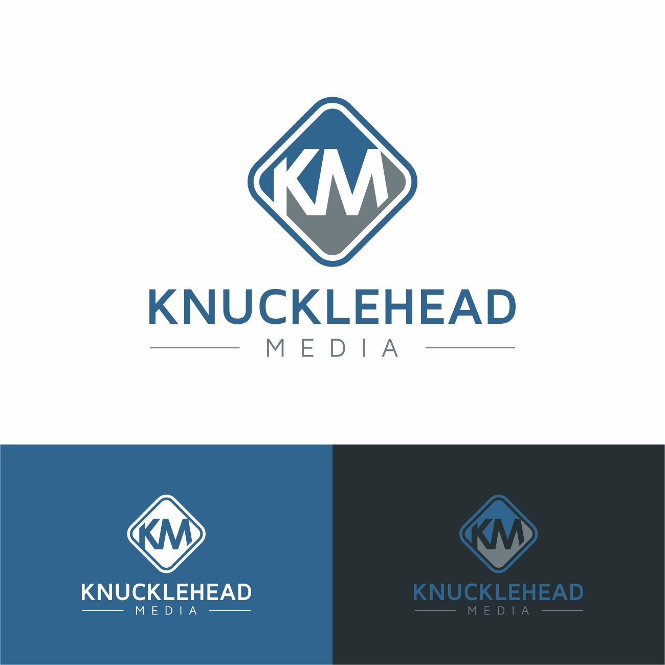 Logo Design by RasYa Muhammad Athaya - Entry No. 25 in the Logo Design Contest Imaginative Logo Design for knucklehead media.
