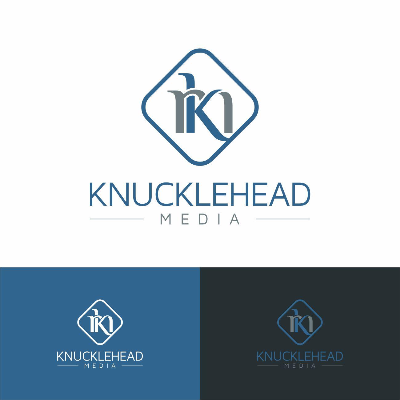 Logo Design by RasYa Muhammad Athaya - Entry No. 26 in the Logo Design Contest Imaginative Logo Design for knucklehead media.