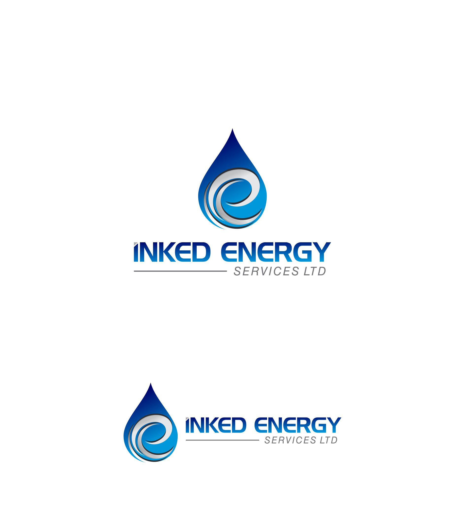 Logo Design by Raymond Garcia - Entry No. 56 in the Logo Design Contest Creative Logo Design for INKED ENERGY SERVICES LTD.