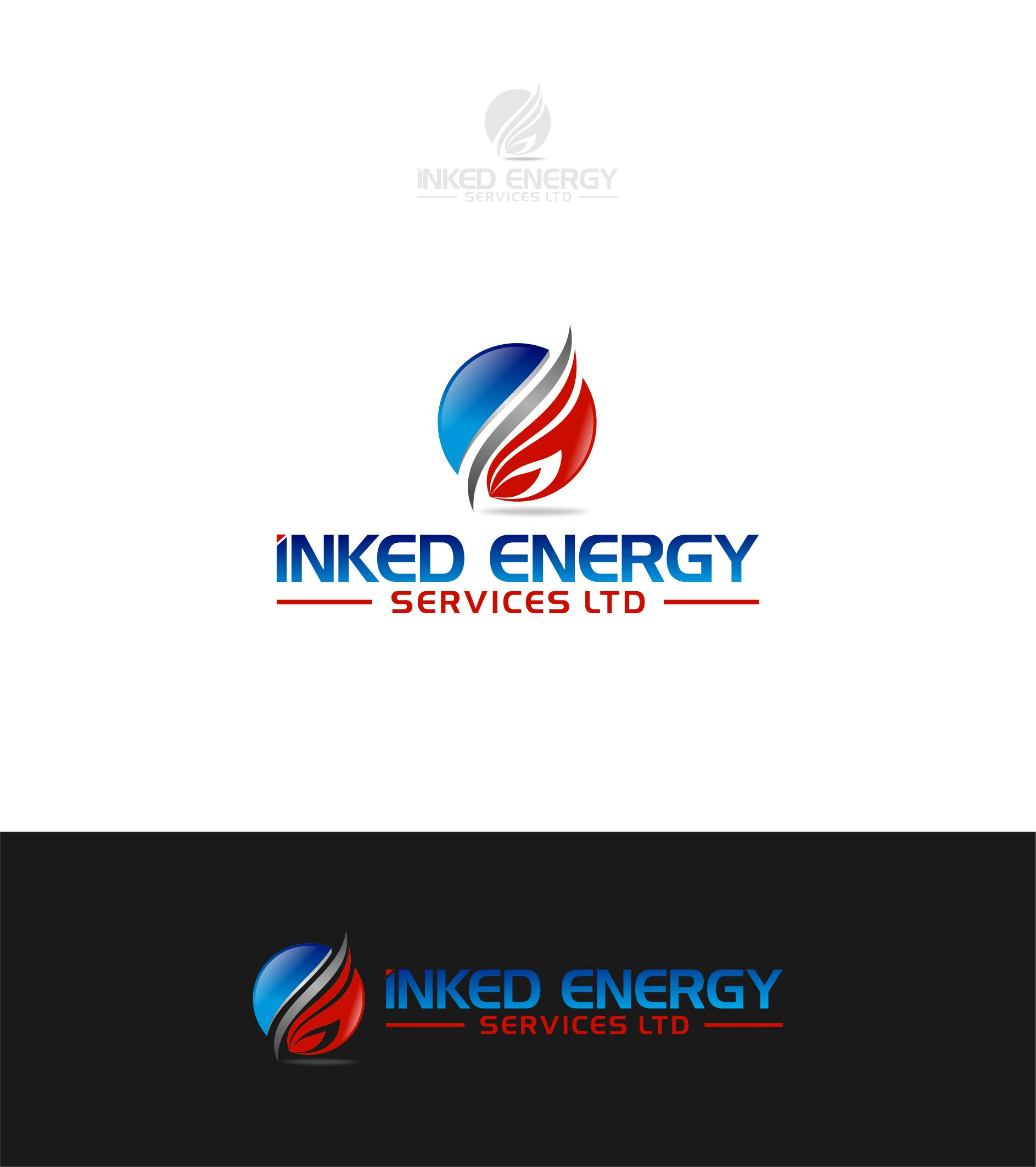Logo Design by Raymond Garcia - Entry No. 61 in the Logo Design Contest Creative Logo Design for INKED ENERGY SERVICES LTD.