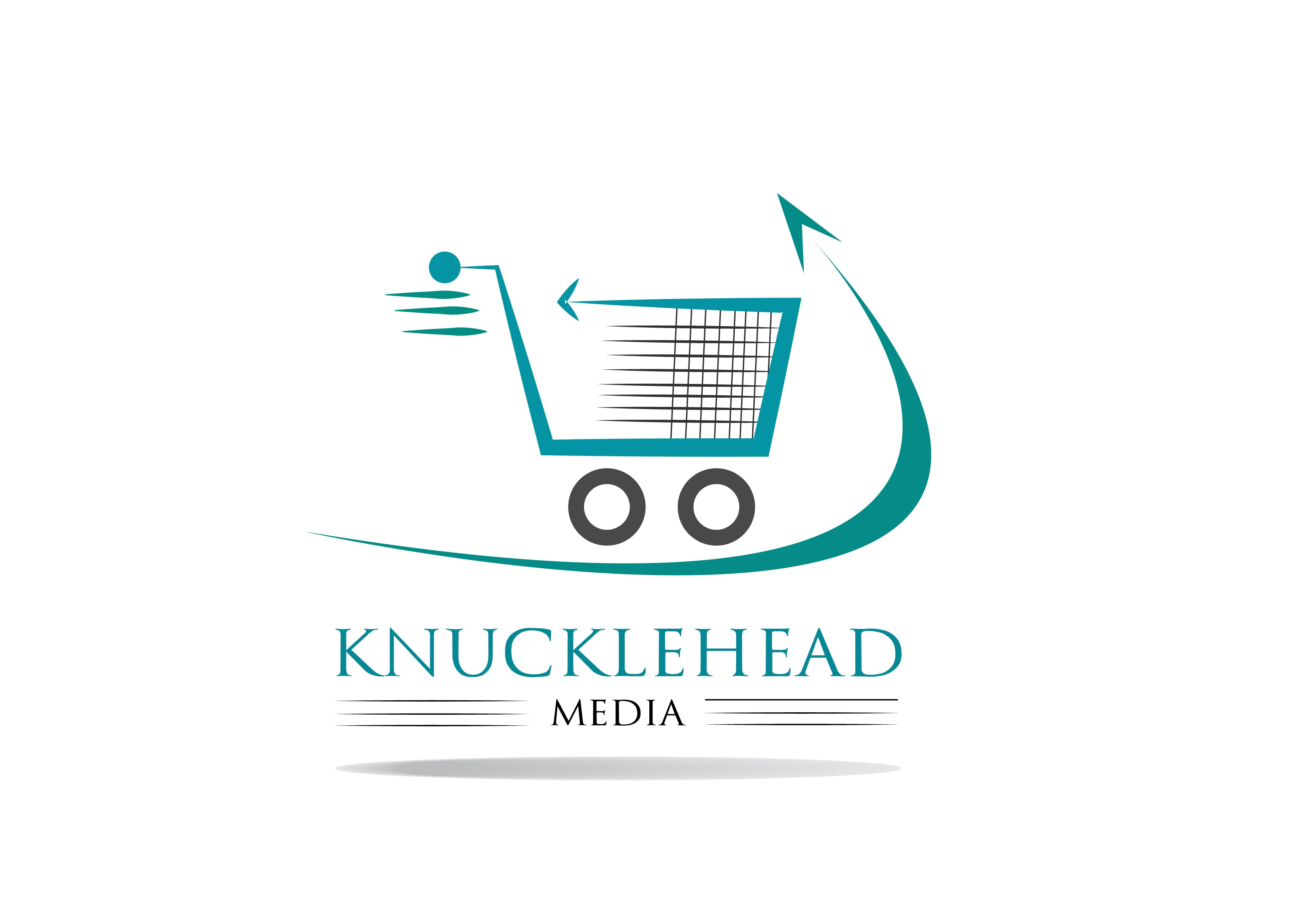 Logo Design by Bilal Baloch - Entry No. 34 in the Logo Design Contest Imaginative Logo Design for knucklehead media.