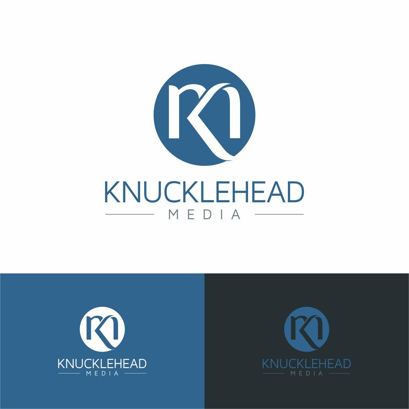 Logo Design by RasYa Muhammad Athaya - Entry No. 36 in the Logo Design Contest Imaginative Logo Design for knucklehead media.