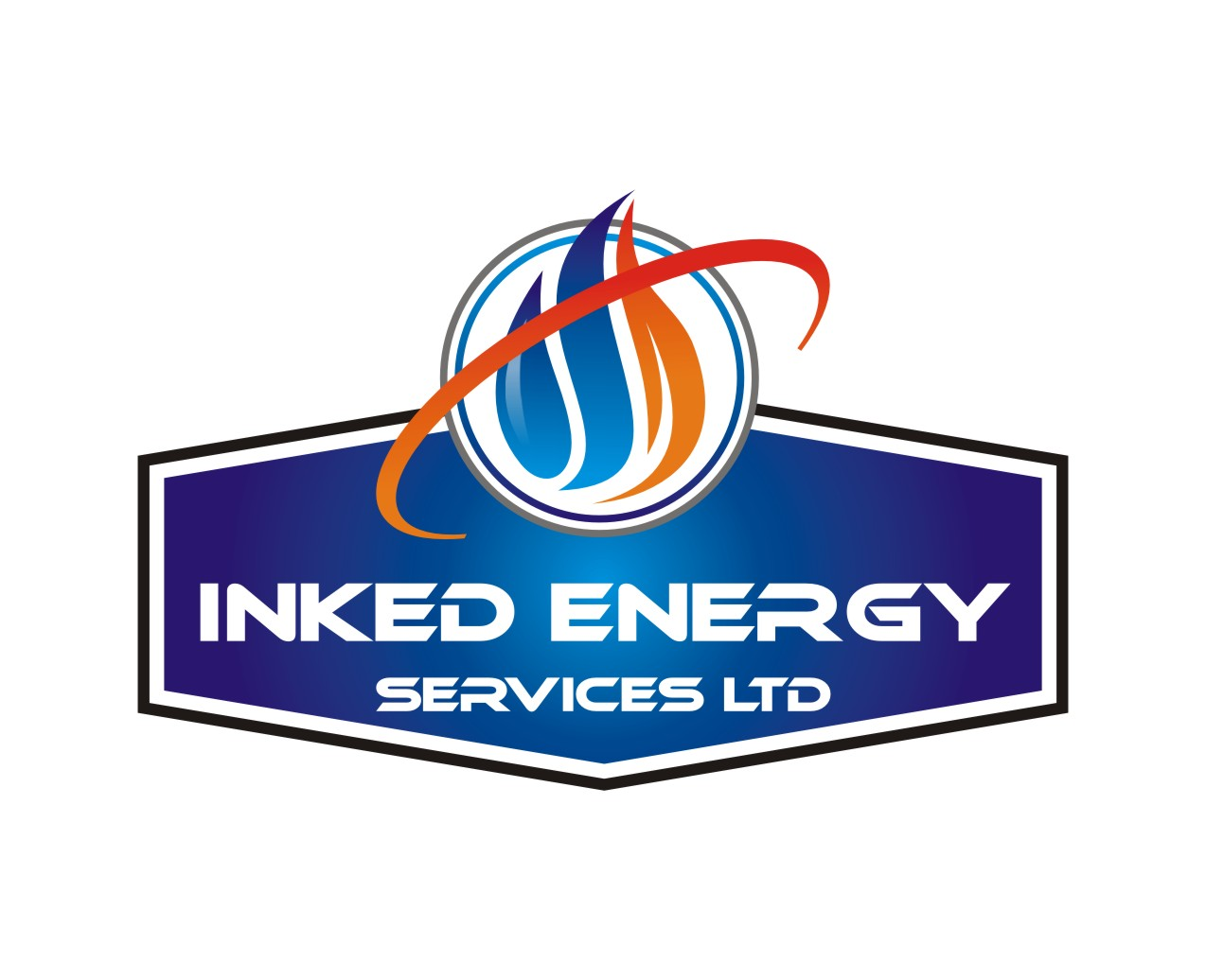 Logo Design by Spider Graphics - Entry No. 62 in the Logo Design Contest Creative Logo Design for INKED ENERGY SERVICES LTD.