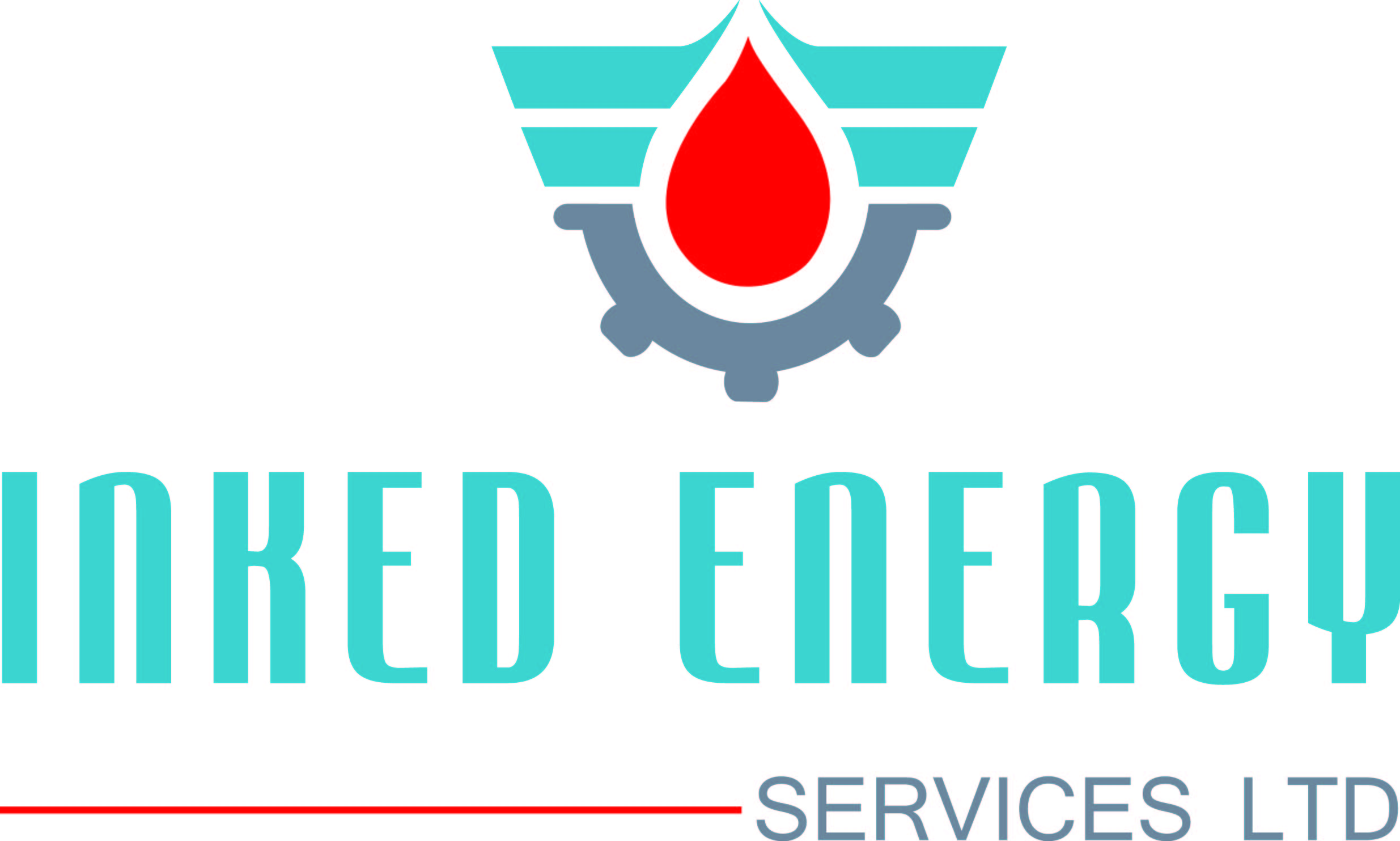 Logo Design by Private User - Entry No. 64 in the Logo Design Contest Creative Logo Design for INKED ENERGY SERVICES LTD.