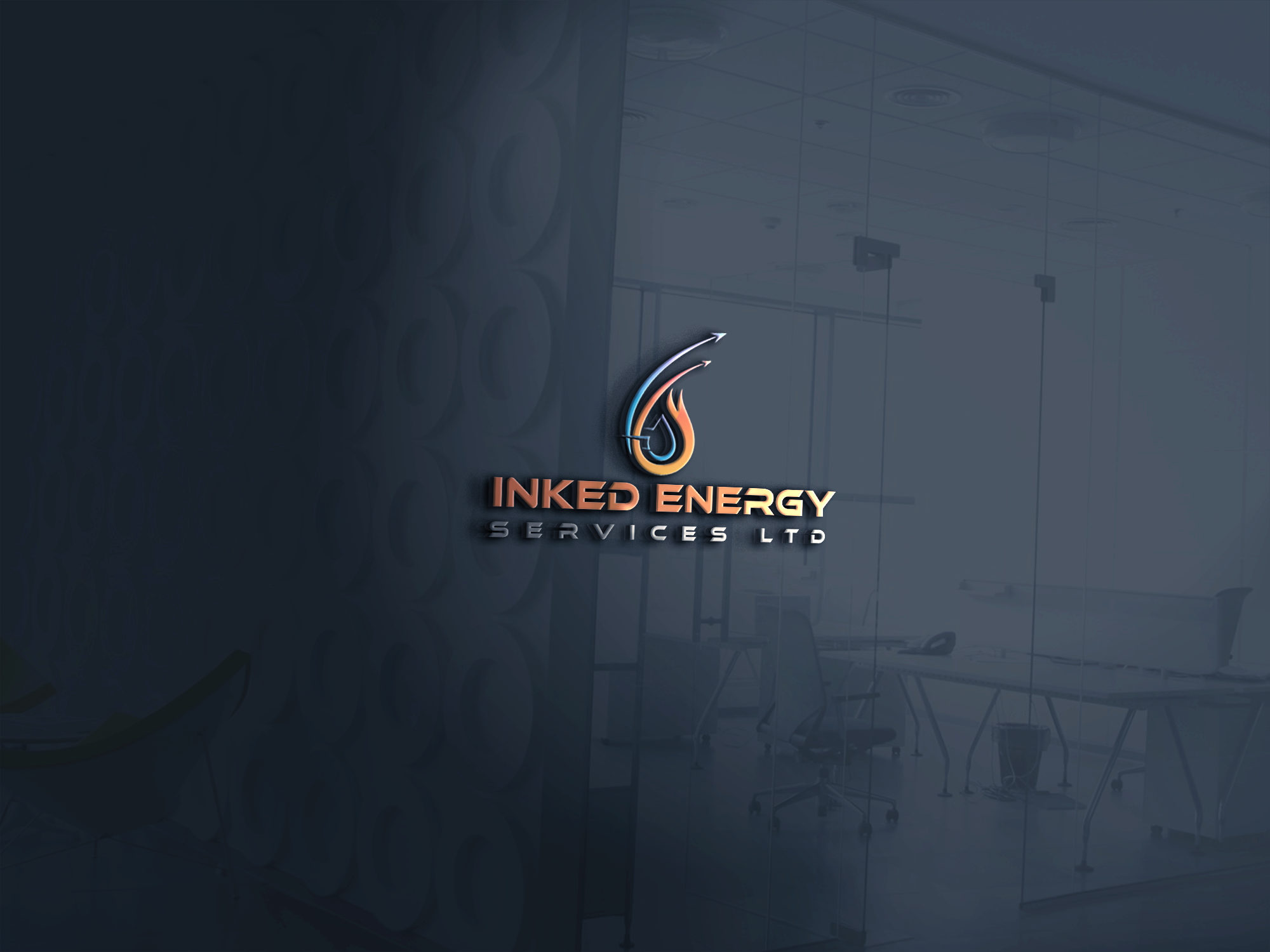 Logo Design by Private User - Entry No. 72 in the Logo Design Contest Creative Logo Design for INKED ENERGY SERVICES LTD.