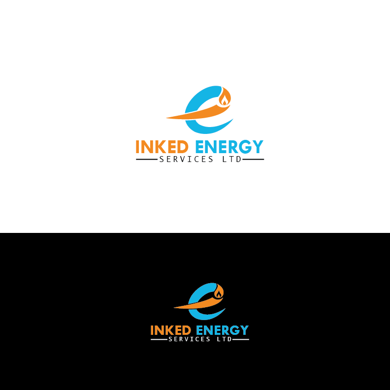 Logo Design by Private User - Entry No. 79 in the Logo Design Contest Creative Logo Design for INKED ENERGY SERVICES LTD.