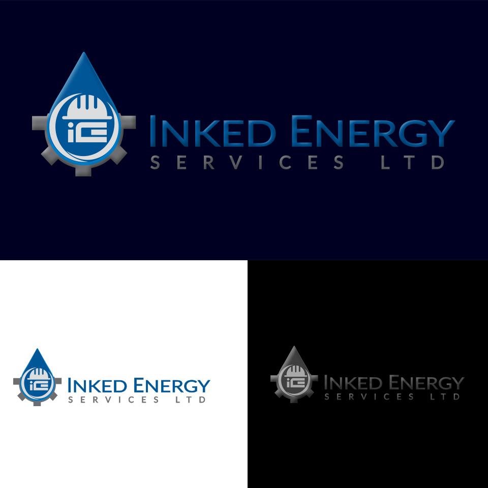 Logo Design by AKM Fazley Rabbi Faruque - Entry No. 84 in the Logo Design Contest Creative Logo Design for INKED ENERGY SERVICES LTD.