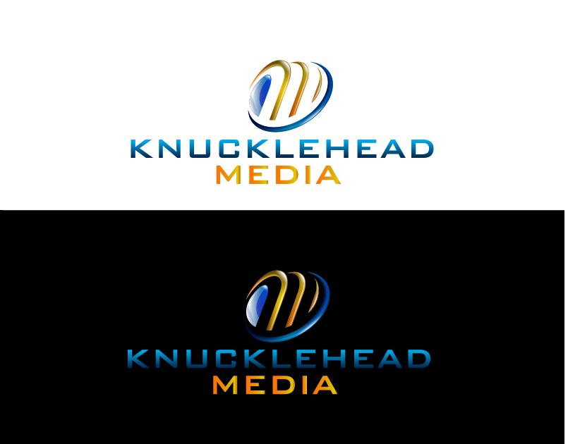 Logo Design by Private User - Entry No. 44 in the Logo Design Contest Imaginative Logo Design for knucklehead media.