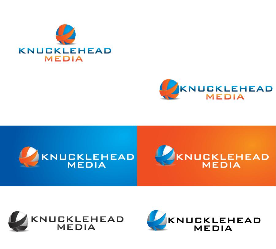 Logo Design by Private User - Entry No. 46 in the Logo Design Contest Imaginative Logo Design for knucklehead media.