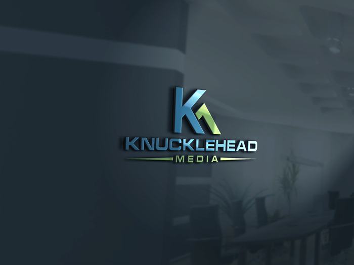 Logo Design by Mohammad azad Hossain - Entry No. 52 in the Logo Design Contest Imaginative Logo Design for knucklehead media.