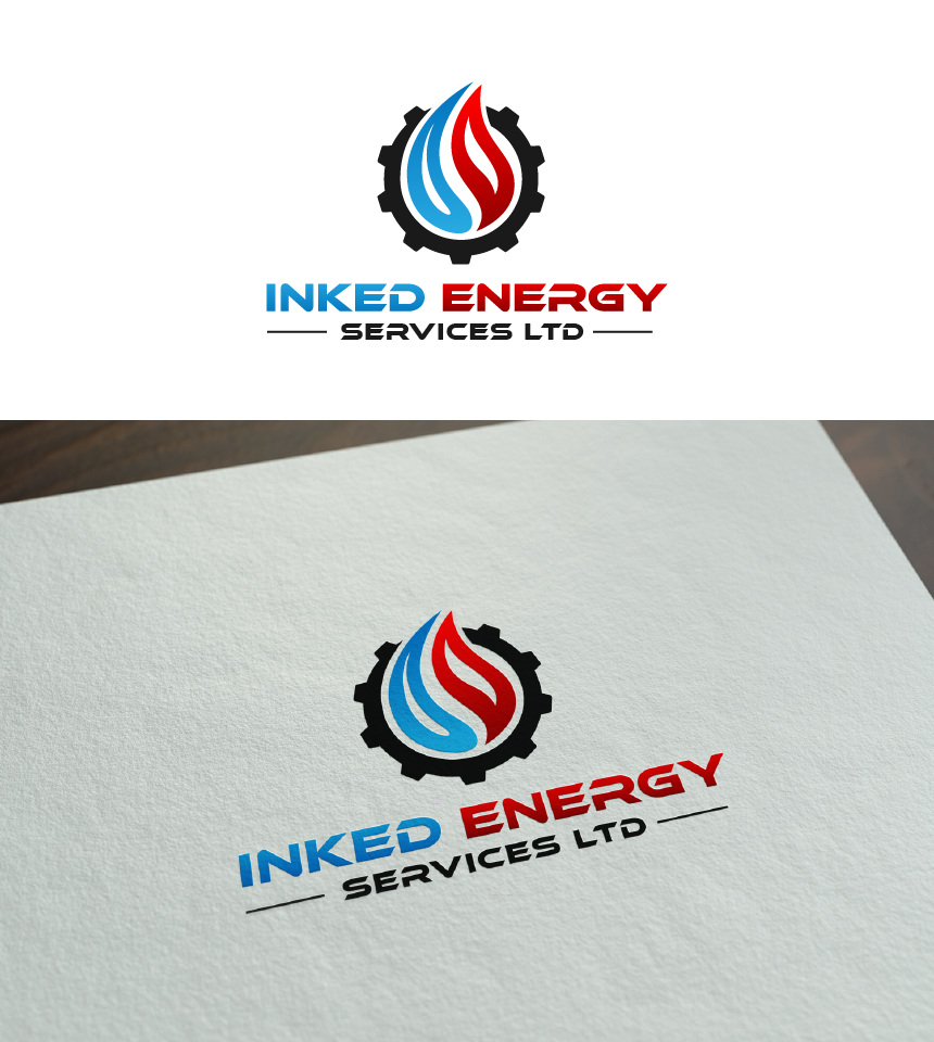 Logo Design by Juan Luna - Entry No. 92 in the Logo Design Contest Creative Logo Design for INKED ENERGY SERVICES LTD.
