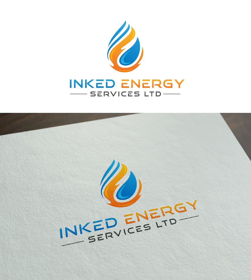 Logo Design by Juan Luna - Entry No. 93 in the Logo Design Contest Creative Logo Design for INKED ENERGY SERVICES LTD.