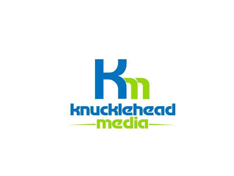 Logo Design by Private User - Entry No. 56 in the Logo Design Contest Imaginative Logo Design for knucklehead media.