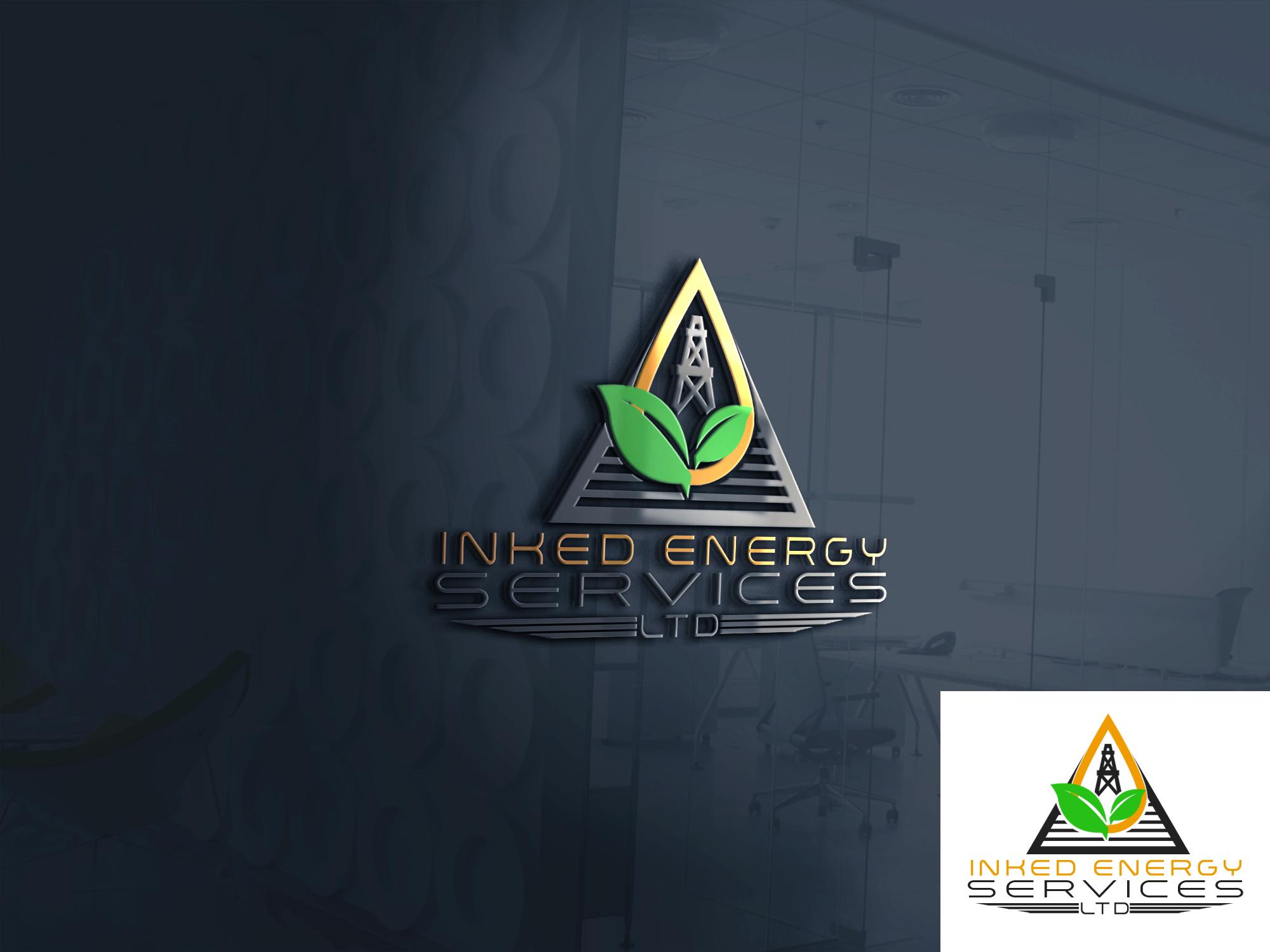 Logo Design by John Melvie Sulla - Entry No. 97 in the Logo Design Contest Creative Logo Design for INKED ENERGY SERVICES LTD.