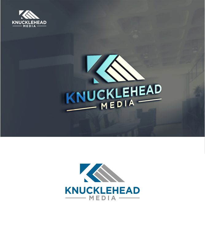 Logo Design by Raymond Garcia - Entry No. 60 in the Logo Design Contest Imaginative Logo Design for knucklehead media.