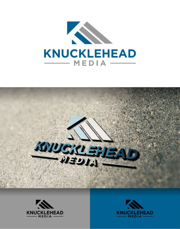 Logo Design by Raymond Garcia - Entry No. 63 in the Logo Design Contest Imaginative Logo Design for knucklehead media.