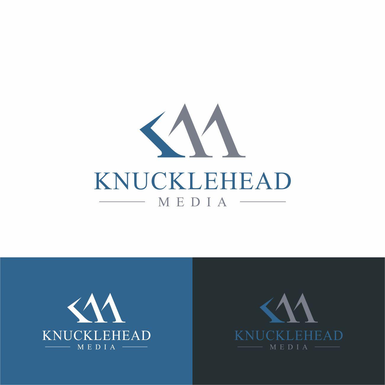 Logo Design by RasYa Muhammad Athaya - Entry No. 64 in the Logo Design Contest Imaginative Logo Design for knucklehead media.