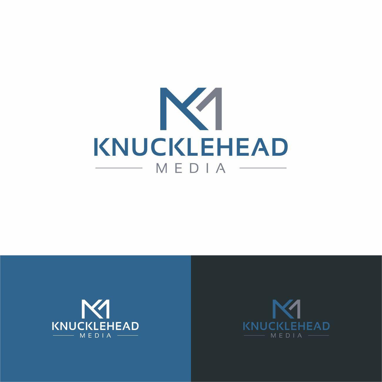 Logo Design by RasYa Muhammad Athaya - Entry No. 65 in the Logo Design Contest Imaginative Logo Design for knucklehead media.
