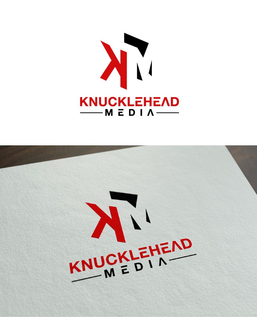 Logo Design by Juan Luna - Entry No. 66 in the Logo Design Contest Imaginative Logo Design for knucklehead media.